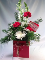 Let It Snow! Bouquet from Amy's Flowers and Gifts in Sparks, NV