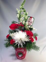 Jingle All the Way! Bouquet from Amy's Flowers and Gifts in Sparks, NV