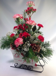 Sleigh Ride Bouquet from Amy's Flowers and Gifts in Sparks, NV