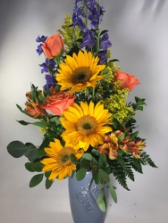 Burst of Color Bouquet from Amy's Flowers and Gifts in Sparks, NV