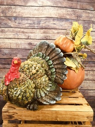 Turkey Centerpiece from Amy's Flowers and Gifts in Sparks, NV