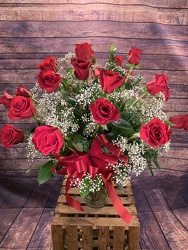 A Dozen Red Roses from Amy's Flowers and Gifts in Sparks, NV