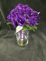 Hand-tied purple lisianthus from Amy's Flowers and Gifts in Sparks, NV
