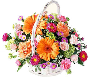 Spring Basket Bouquet from Amy's Flowers and Gifts in Sparks, NV