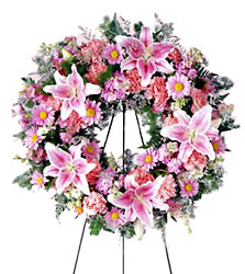 Pastel Memories Wreath from Amy's Flowers and Gifts in Sparks, NV