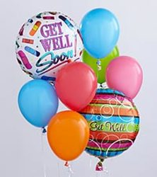 Get Well Balloon Bouquet from Amy's Flowers and Gifts in Sparks, NV